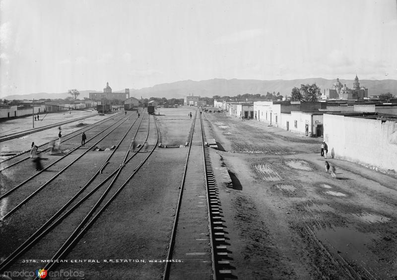 Estación del Ferrocarril Central (por William Henry Jackson, c. 1888)