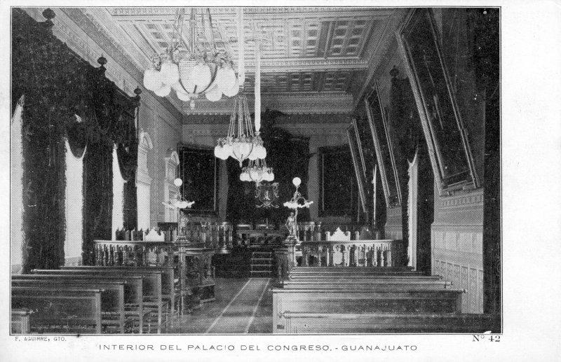 Interior del Palacio del Congreso
