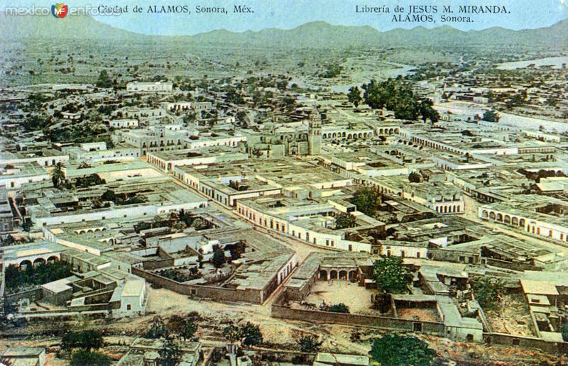 Vista panorámica de Alamos