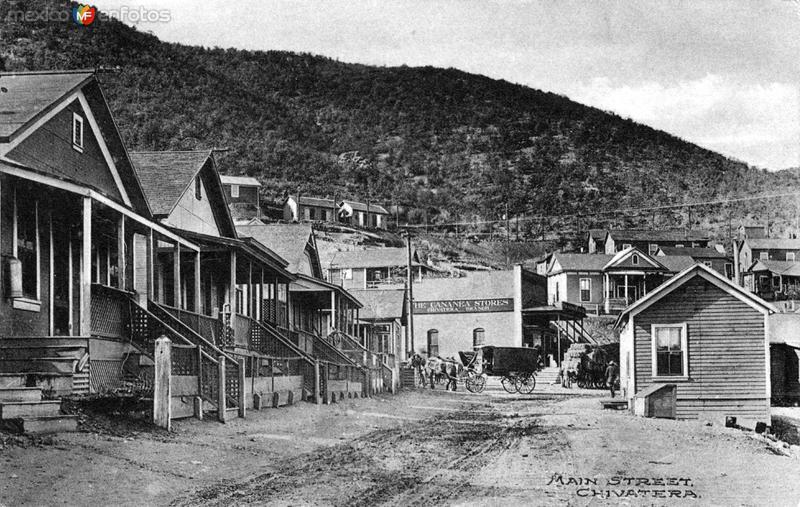 Calle principal de Cananea