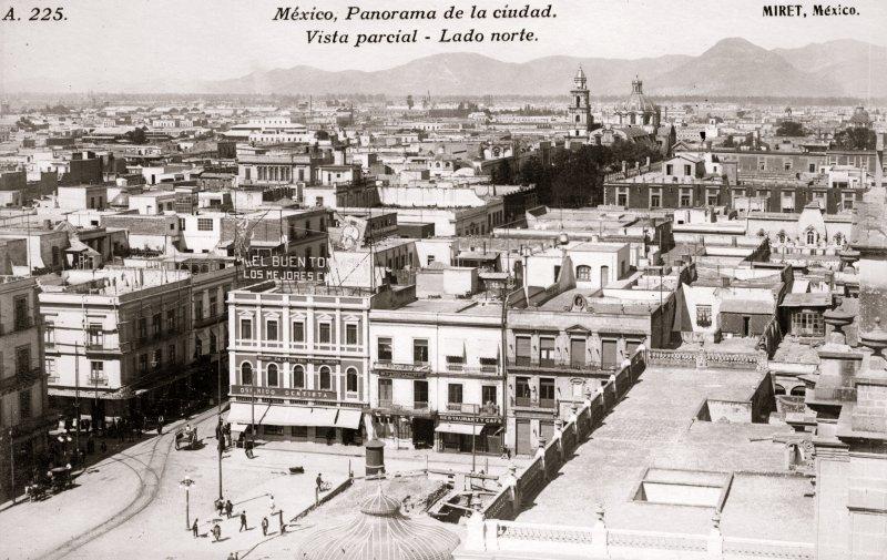 Vista panorámica al norte de la ciudad