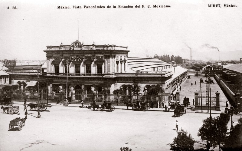 Estación del Ferrocarril Central Mexicano