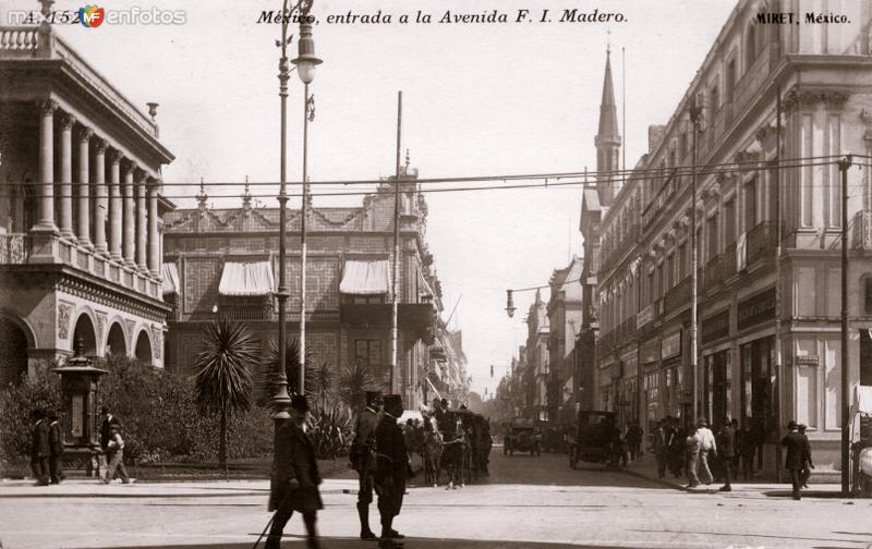 Entrada a la Avenida Francisco I. Madero