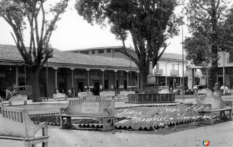 Plaza Fray Juan de San Miguel