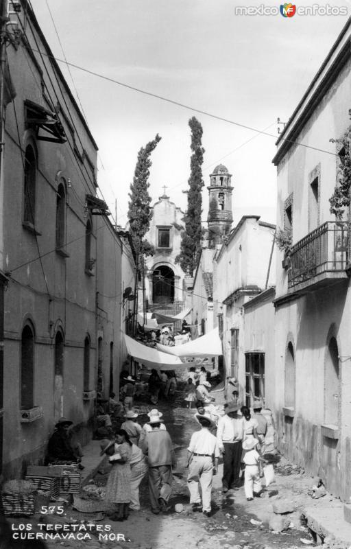 Calle de los Tepetates