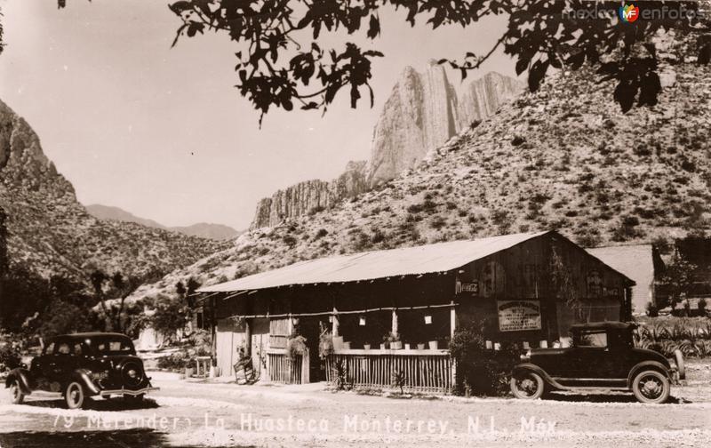 Merendero en el Cañón de La Huasteca