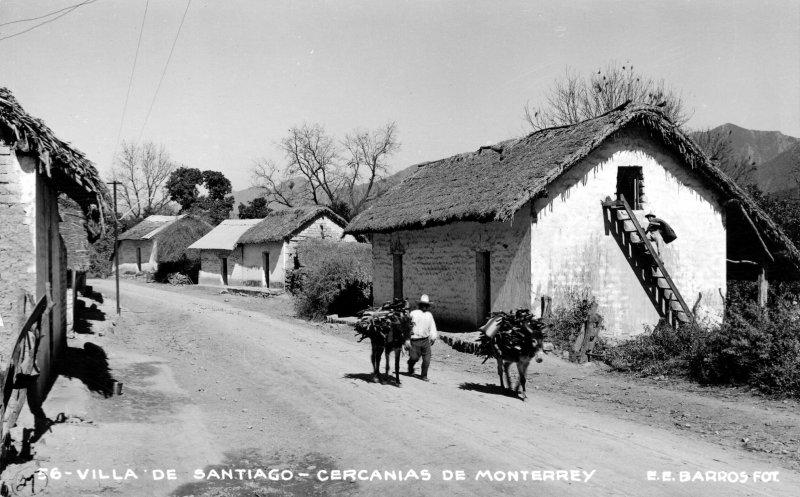 Una calle de Santiago