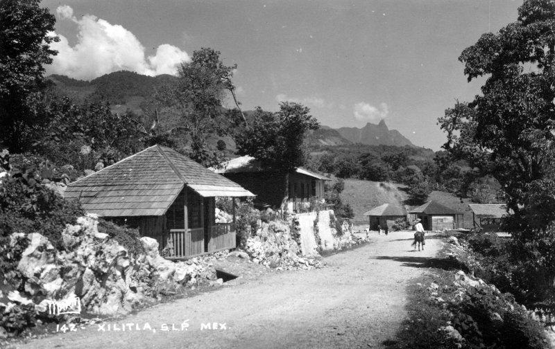 Una calle en Xilitla