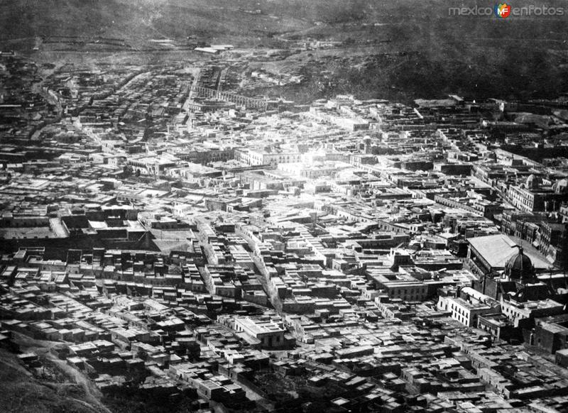 Vista panorámica de Zacatecas