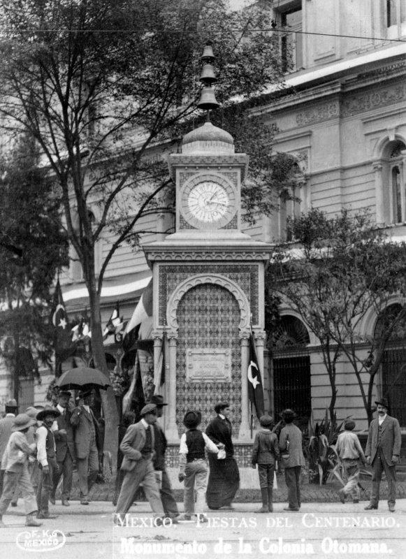 Fiestas del Centenario: Reloj en la Colonia Otomana