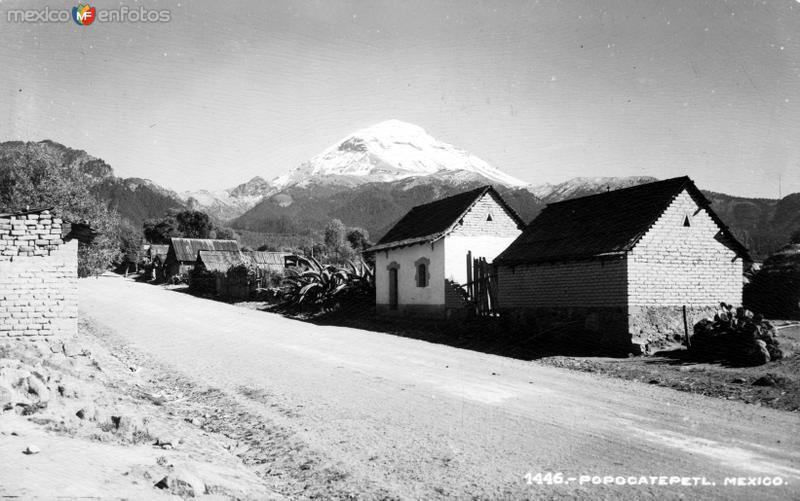 Vocán Popocatépetl