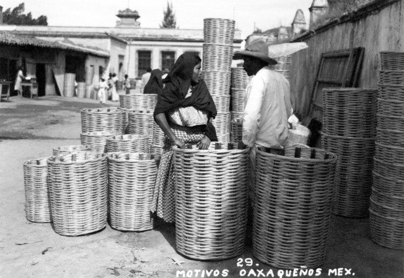 Vendedores de canastos