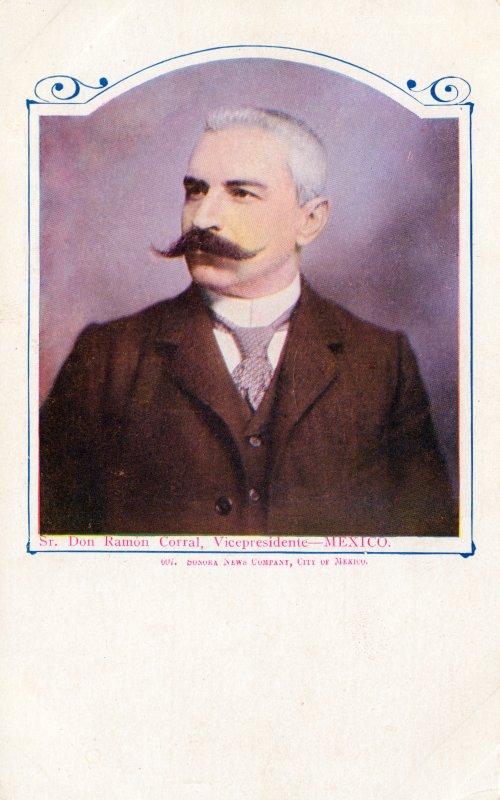 Ramón Corral, vicepresidente porfiriano