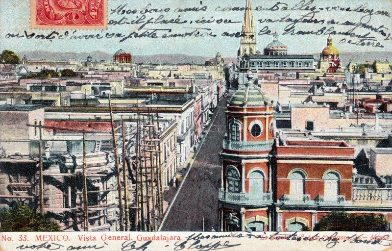 Vista panorámica de Guadalajara