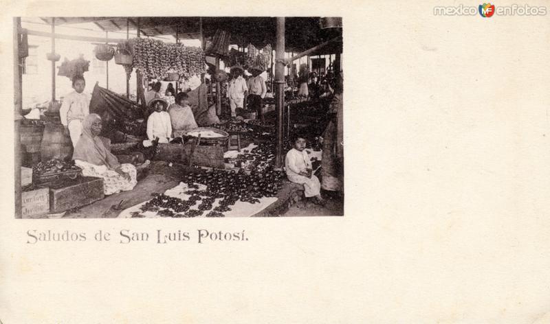 Mercado en San Luis Potosí