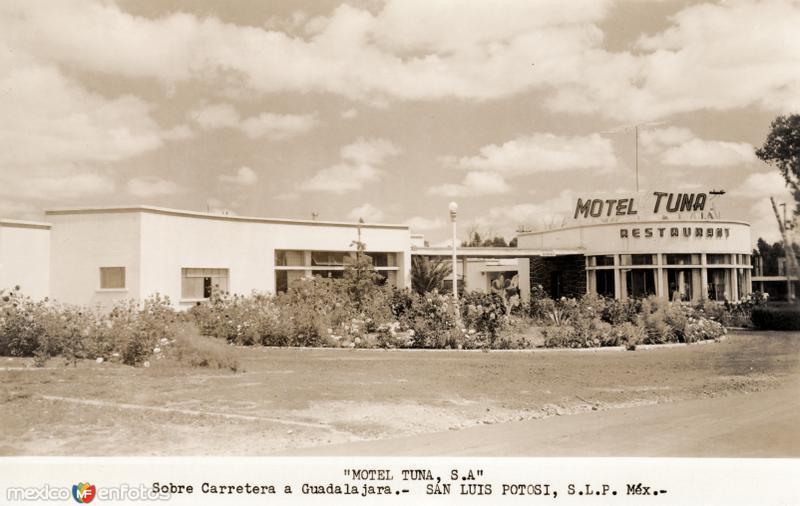 Motel Tuna, en la Carretera a Guadalajara