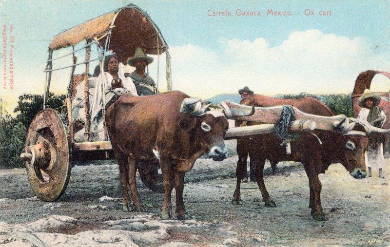 Carreta en Oaxaca