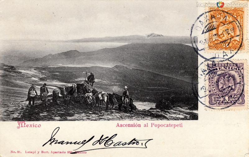 Ascención al Popocatépetl
