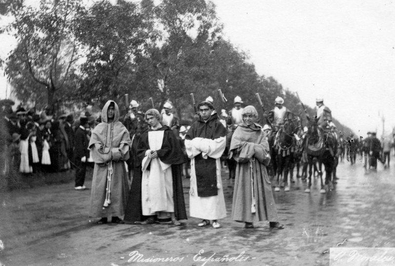 Representación de misioneros españoles (1910)