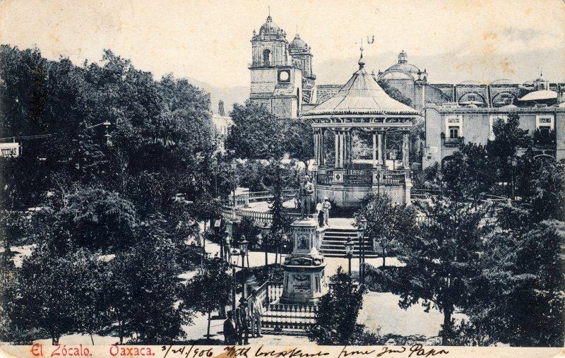 Plaza de Armas de Oaxaca