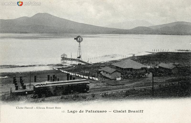 Lago de Pátzcuaro y Chalet Braniff