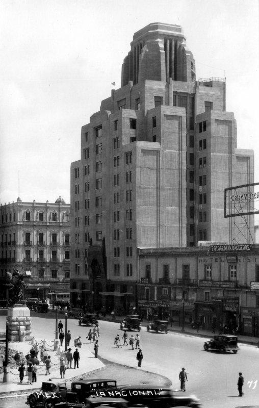 Edificio La Nacional, el primer rascacielos de México