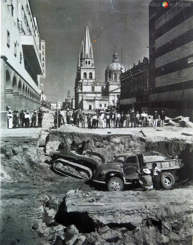 drenajes en Construccion Hacia 1953