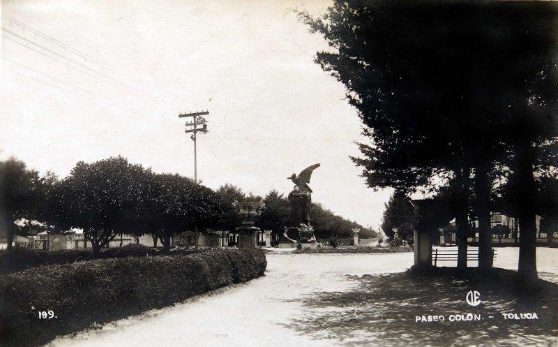Paseo Colon Hacia 1930