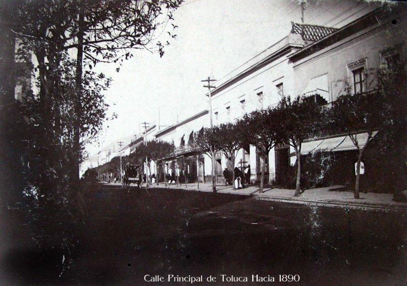Calle Principal Hacia 1890