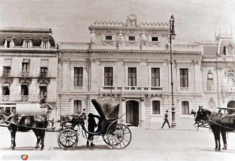 Ministerio de Relaciones Exteriores (c. 1922)