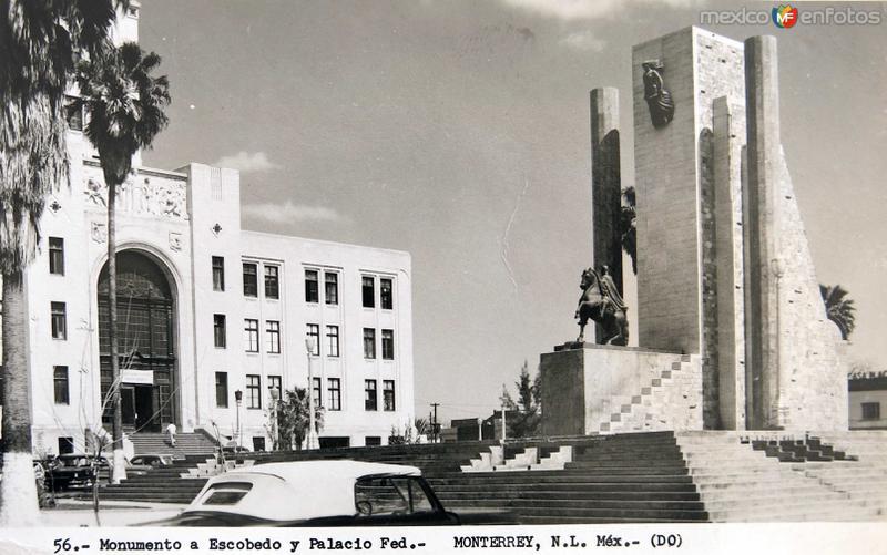 Mto. a Escobedo y Palacio Federal