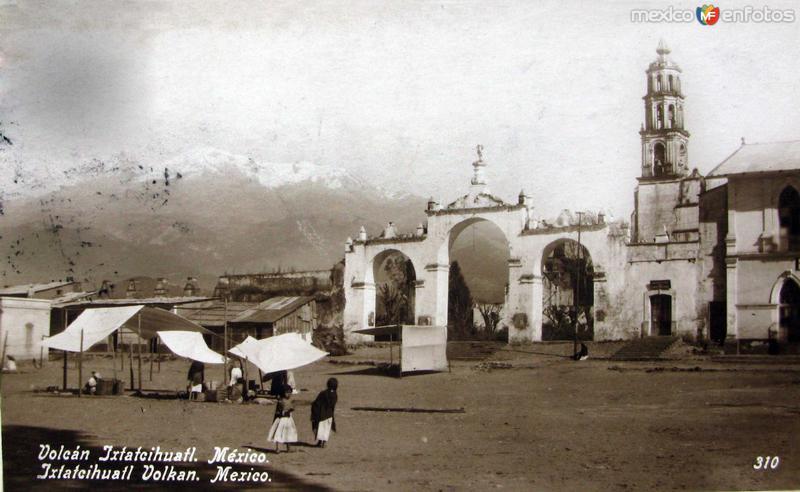 EL VOLCAN IXTACCIHUATL hacia 1909