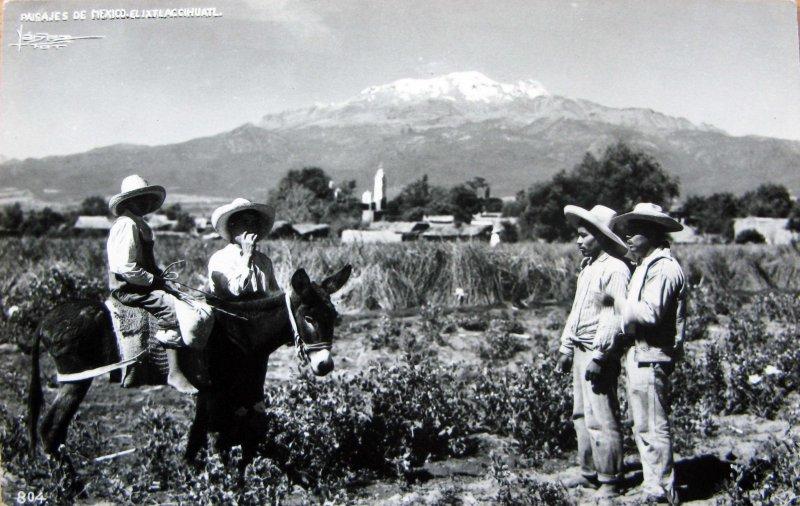 EL VOLCAN IXTACCIHUATL