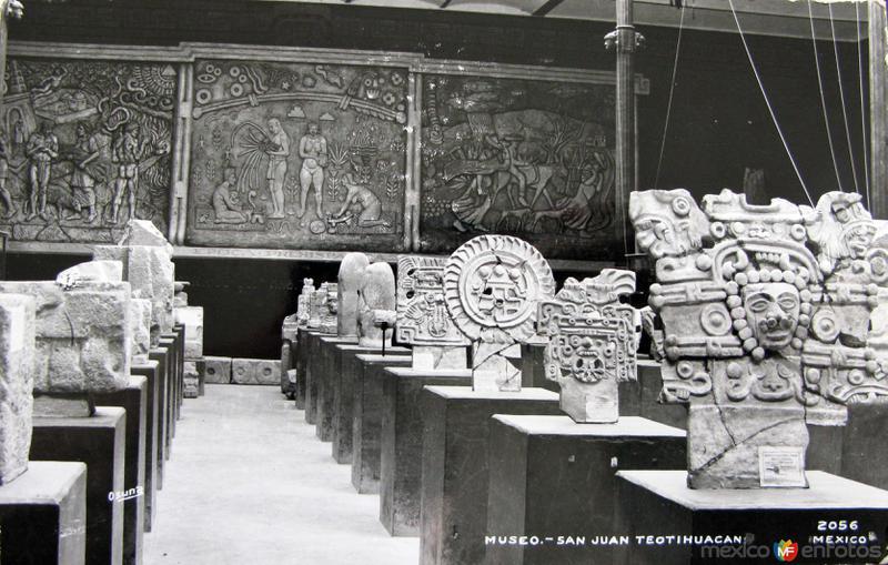 LAS PIRAMIDES MUSEO Hacia 1945