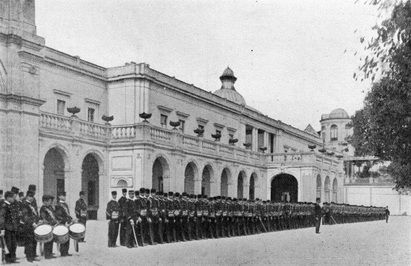 Colegio Militar en el Castillo de Chapultepec