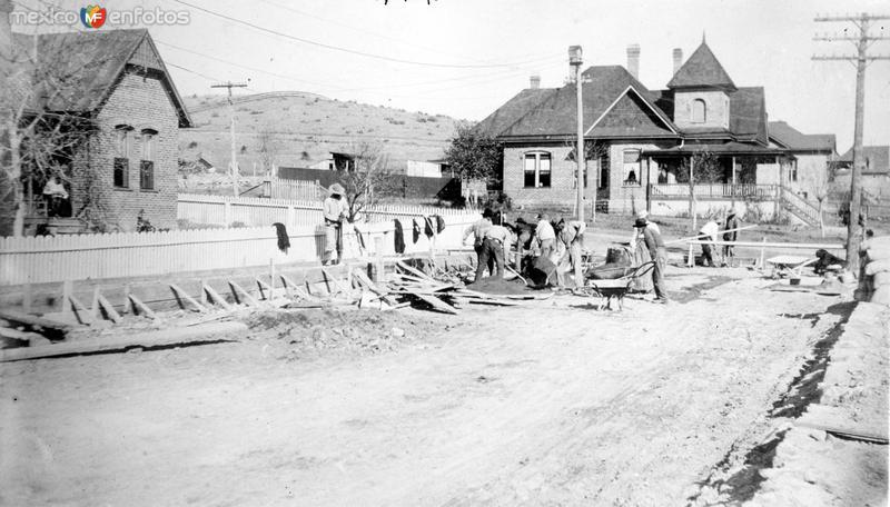 Casas construidas por los mormones (Bain News Service, c. 1915)
