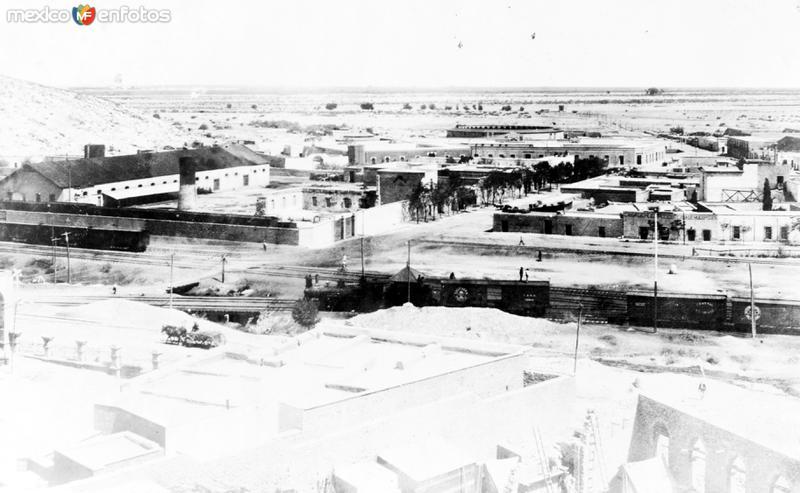 Vista panorámica de Torreón (Bain News Service, 1912)