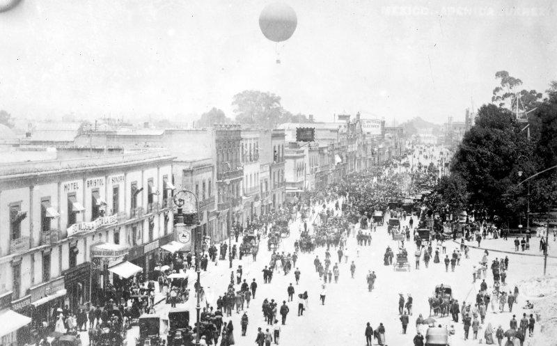 Avenida Juárez (Bain News Service, c. 1915)