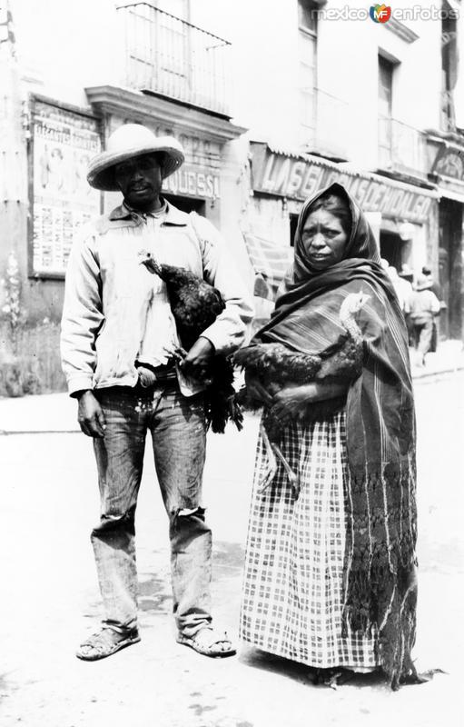 Vendedores de Pollos (Bain News Service, c. 1912)