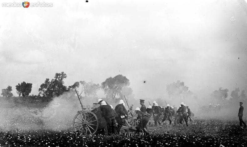 Artillería del Ejército (Bain News Service, c. 1914)