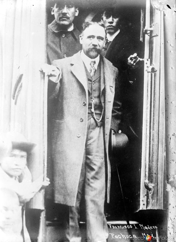 Francisco I. Madero en Pachuca (Bain News Service, c. 1911)