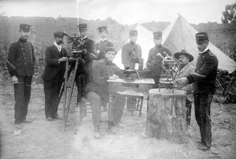 Soldados en la Escuela Militar (Bain News Service, c. 1910)