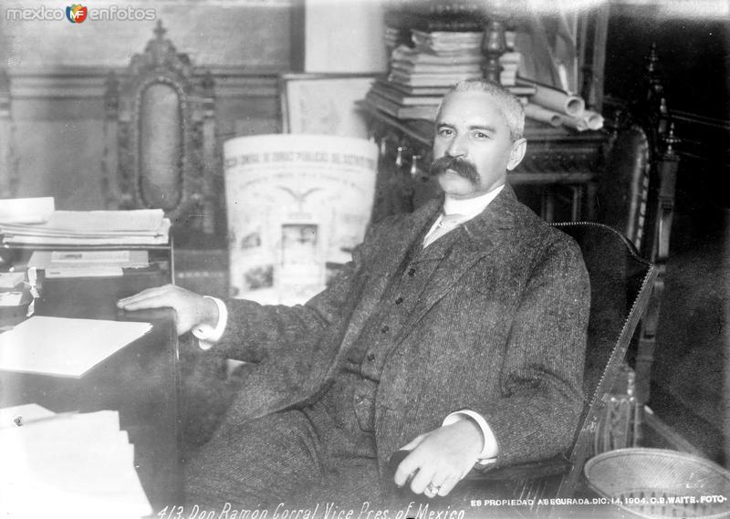 Videpresidente Ramón Corral (Bain News Service, c. 1910)