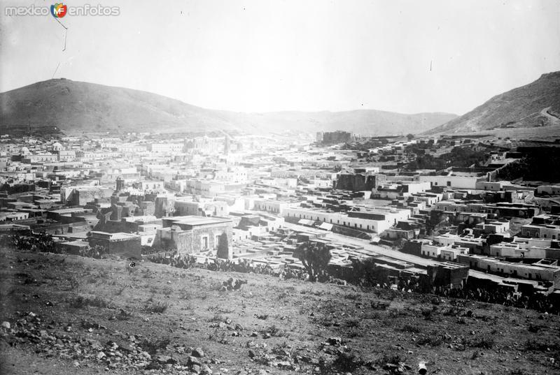 Vista panorámica de Zacatecas II (Bain News Service, c. 1915)