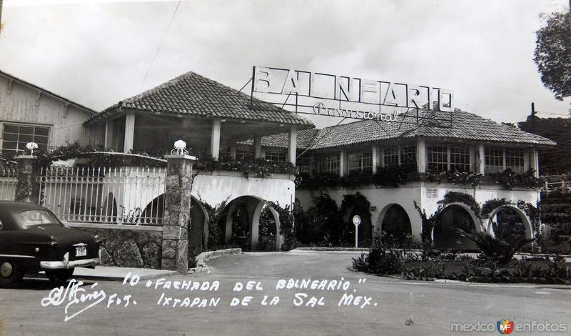 FACHADA DEL BALNEARIO