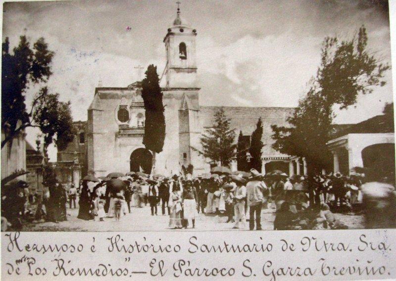 SANTUARIO FAMOSO E HISTORICO Hacia 1900