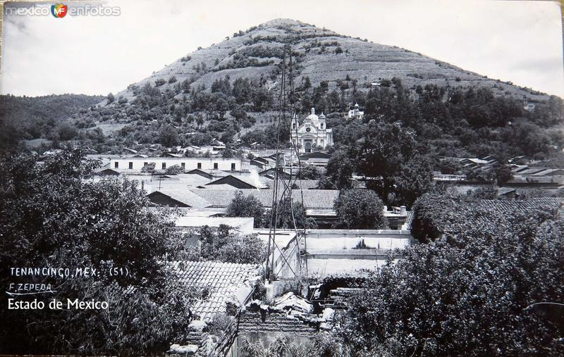 PANORAMA E IGLESIA Hacia 1945