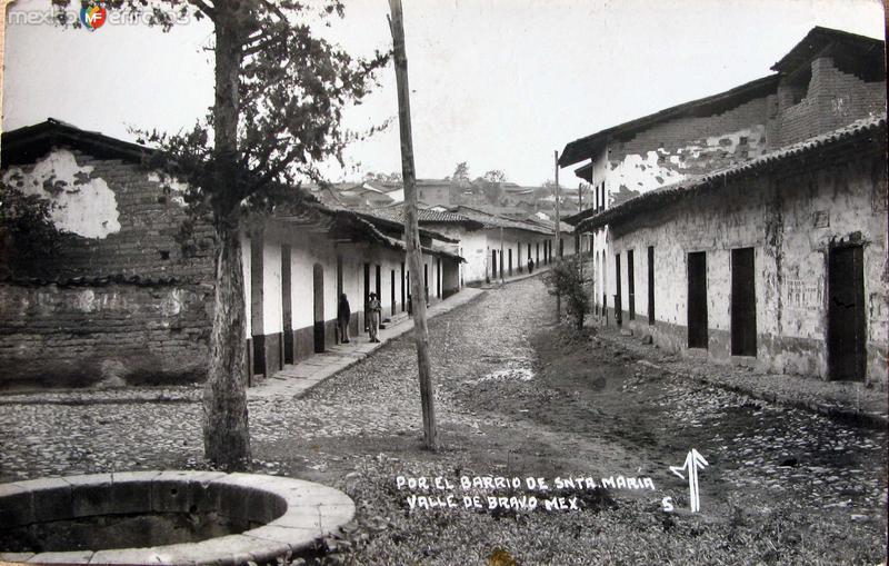 BARRIO DE STA MARIA Hacia 1930