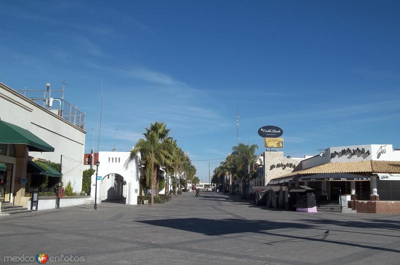 Andador Zona de la Feria de San Marcos Aguascalientes