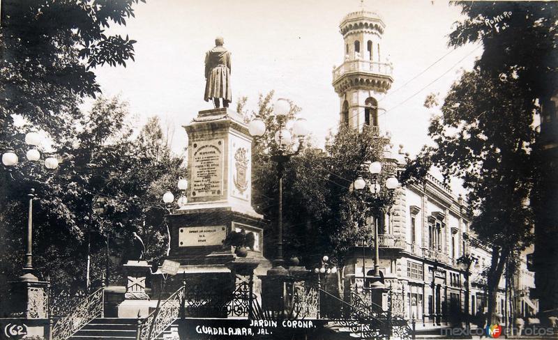 JARDIN CORONA Hacia 1935